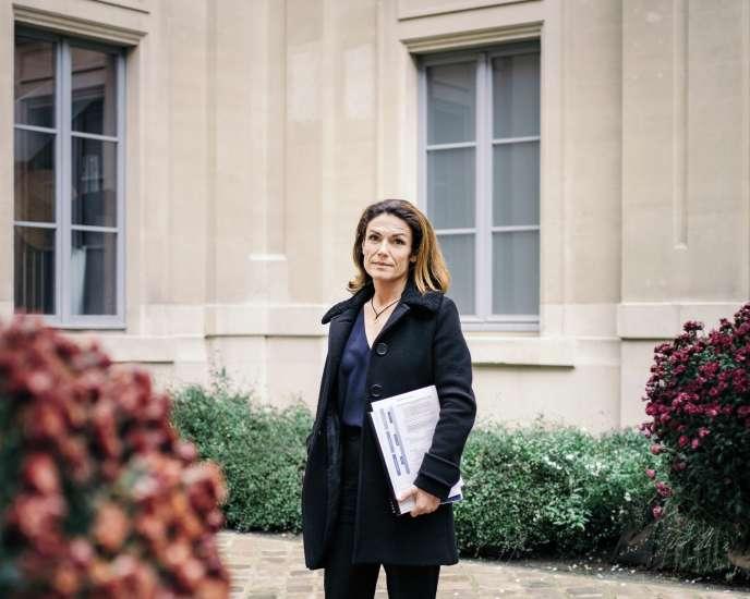 Chantal Jouanno, à Paris le 18 décembre 2018.