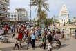 Des Yéménites pro-Houthistes manifestent dans la ville de Hodeidah, le 31 décembre 2018, pour demander l'ouverture d'un couloir humanitaire.