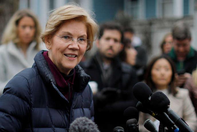 La sénatrice du Massachusetts Elizabeth Warren, le 31 décembre 2018.