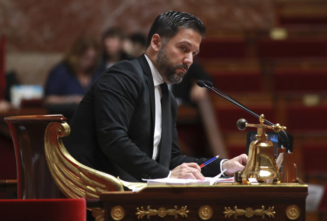 Hugues Renson, le 28 juillet 2017 à l'Assemblée.