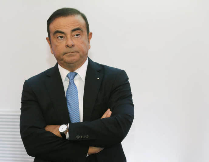 Carlos Ghosn à Paris, le 6 octobre 2017.