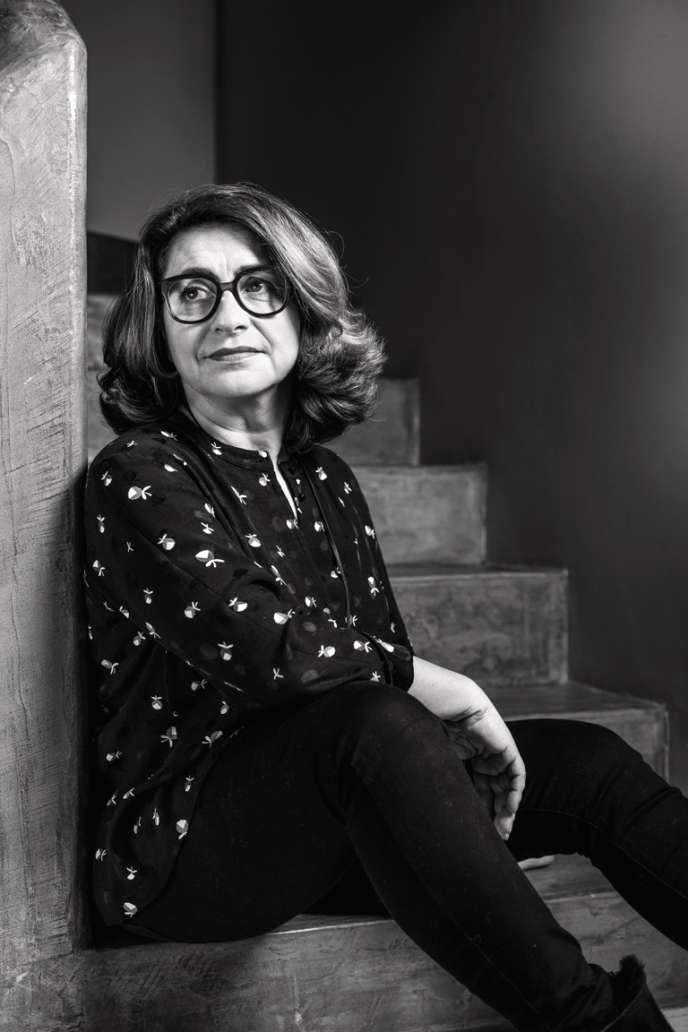 Catherine Roig, ancienne directrice des pages Styles de «Elle» et actuelle directrice de la rédaction de «Version Femina».