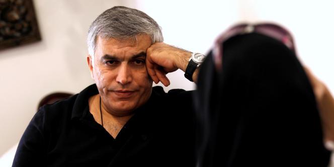 Nabil Rajab, en juin 2016.