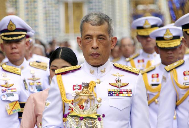 Le roi de Thaïlande, Maha Vajiralongkorn, le 29 mai 2018.