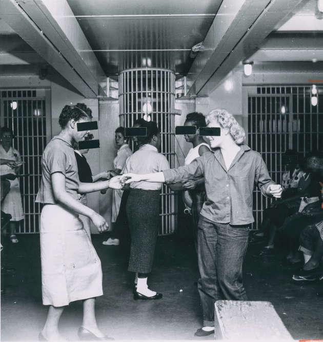 Extrait d'un reportage d'Isaac Sutton dans la prison de Cook County à Chicago, en 1958.