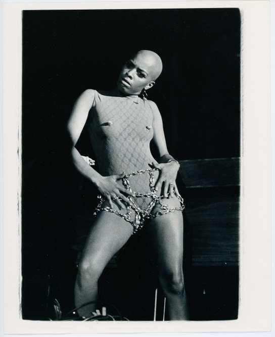 La danseuse Helen Washington dans l'objectif d'IsaacSutton, en 1971.