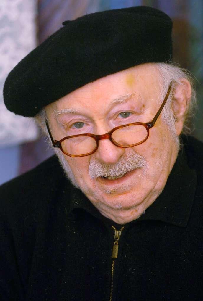 L'écrivain allemand Edgar Hilsenrath, en janvier 2006.