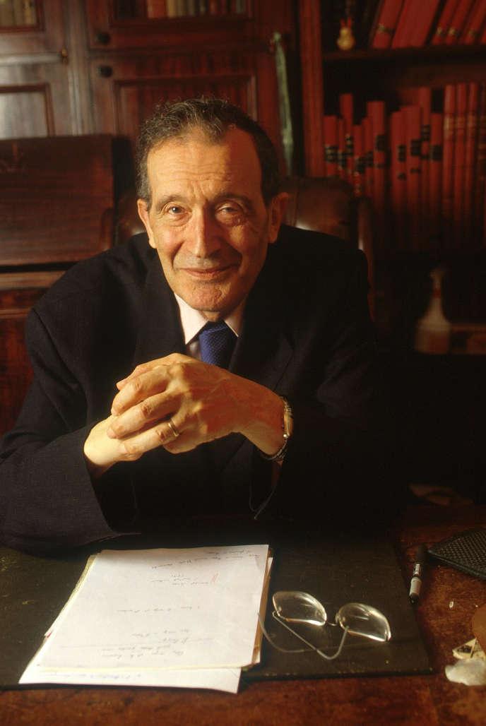 Francis Kaplan, en 2000.