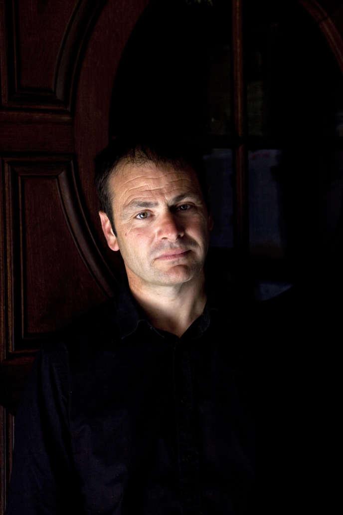 L'écrivain Eric Chevillard, en 2012.