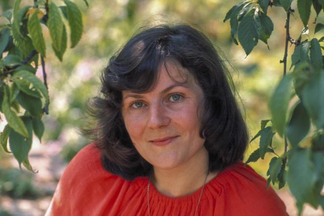La claveciniste Blandine Verlet en 1976.