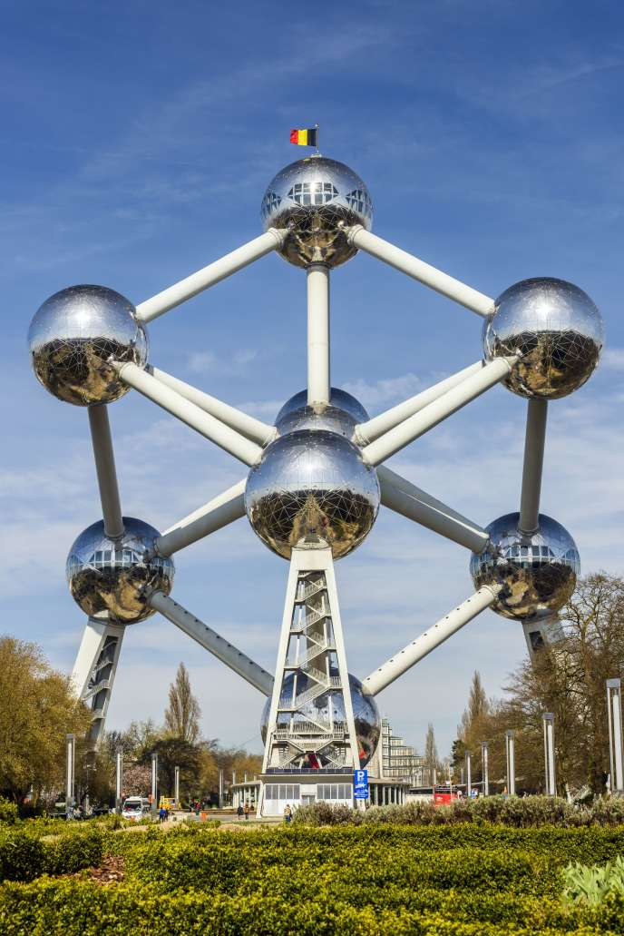 L'Atomium construit en 1958 pour l'Exposition universelle.