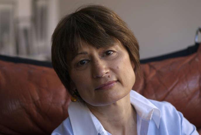 L'écrivaine Catherine Millet, en 2018.
