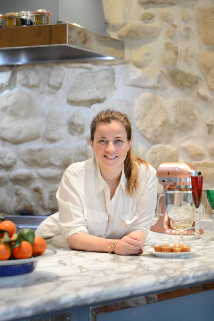 Elodie Piège gère les quatre restaurants à Paris de son mari, le chef Jean-François Piège.