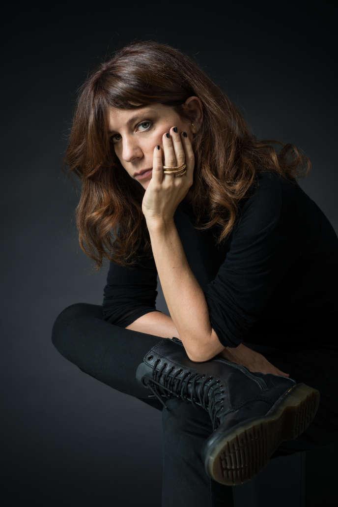 L'écrivaine et psychanalyste Sarah Chiche, en 2018.