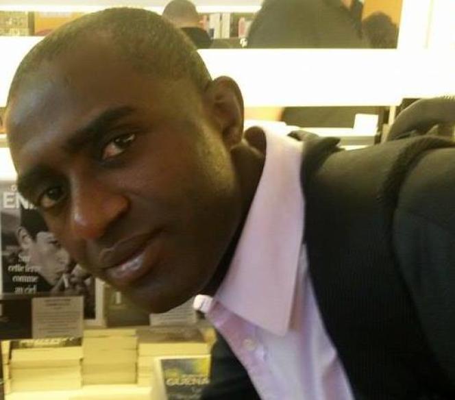 L'écrivain comorien Ali Zamir, à Paris,en 2016.