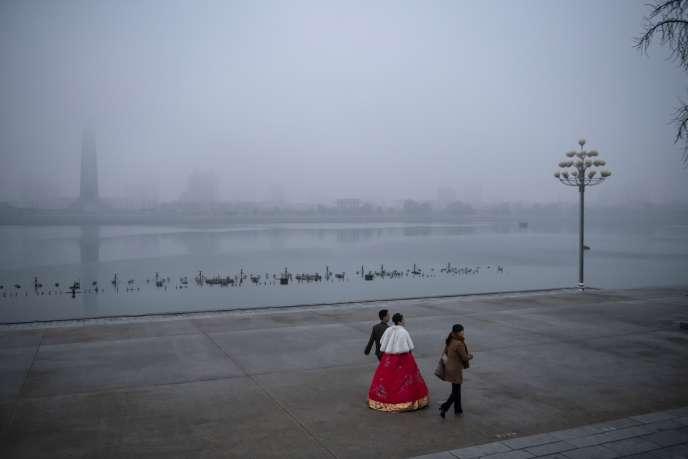 A Pyongyang, le 2 décembre.