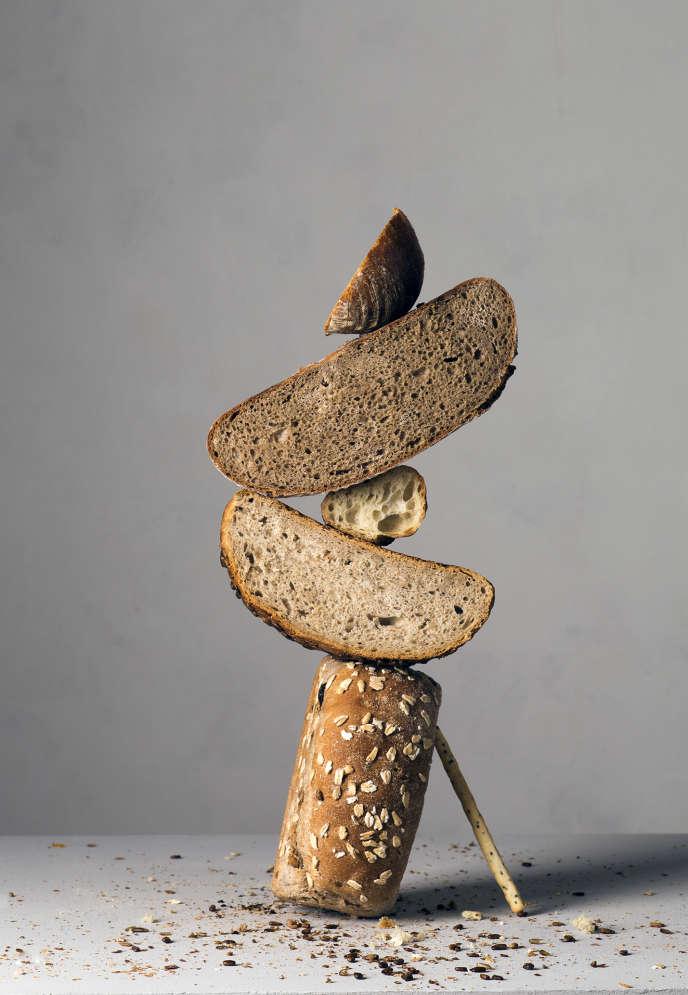 Le pain, pour le dîner de restes.