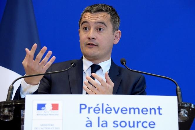Gérald Darmanin, à Paris, le 3 janvier.