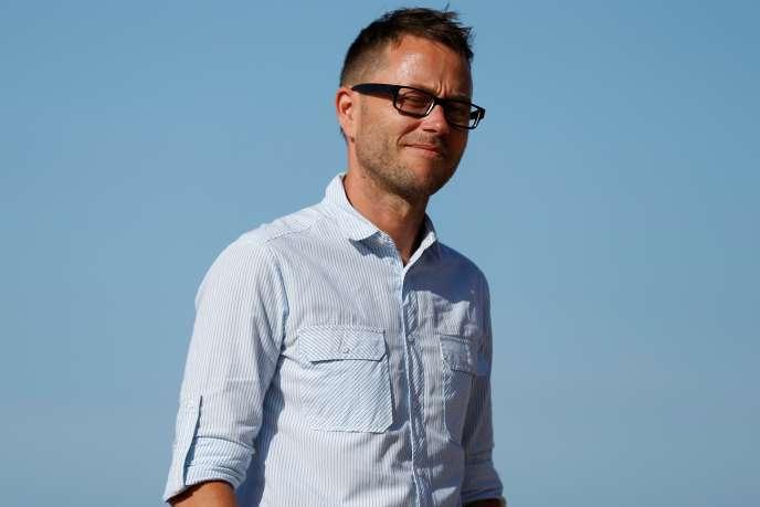 Le réalisateur Jean-Gabriel Périot lors du Festival du film romantique de Cabourg en juin 2017.