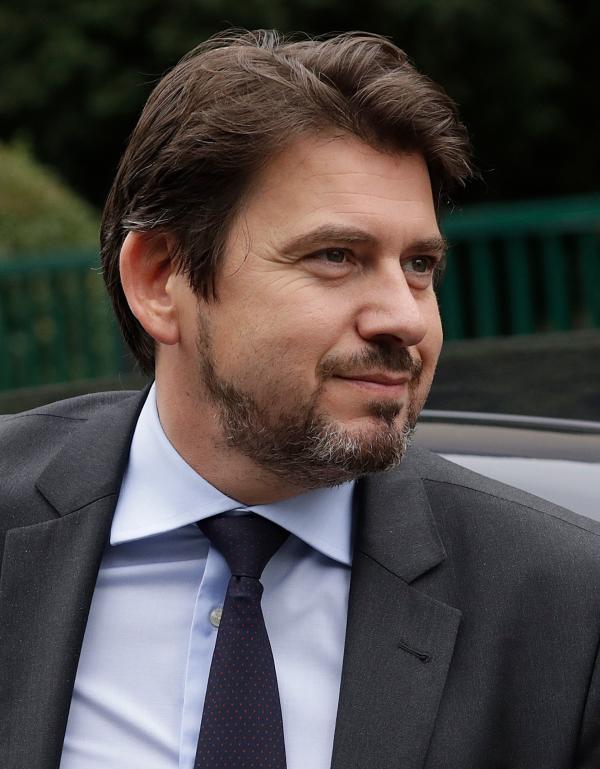 Sylvain Fort, le 2 janvier à Bagnolet.