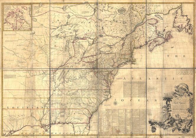 Sur la carte de 1755 qui a permis d'établir la frontière internationale entre Canada et Etats-Unis, le lac des Bois y était représenté sous la forme d'un ovale, ne prenant pas précisément en compte les confettis de terre compris en son sein ou les découpes particulièrement dentelées de son rivage.