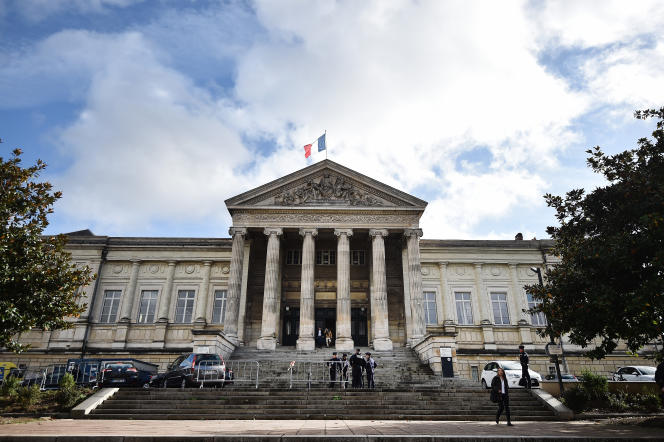 Le tribunal de grande instance d'Angers en 2016.