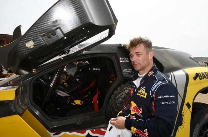 Sébastien Loeb est en quête d'un premier titre au Dakar. L'année dernière, il avait abandonné suite à la blessure de son copilote, Daniel Elena.