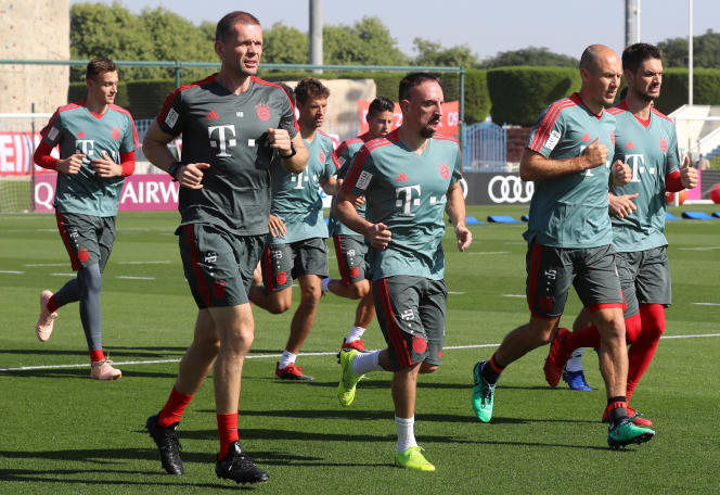 Le stage qatari de Franck Ribéry avec le Bayern Munich est agité.