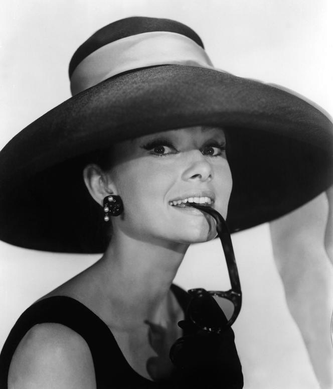 Audrey Hepburn posant pour la promotion du film «Breakfast at Tiffany's», à New York, en 1961.