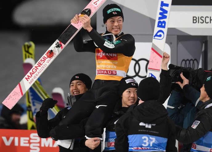 Ryoyu Kobayashi est entré dans l'histoire du saut à ski.