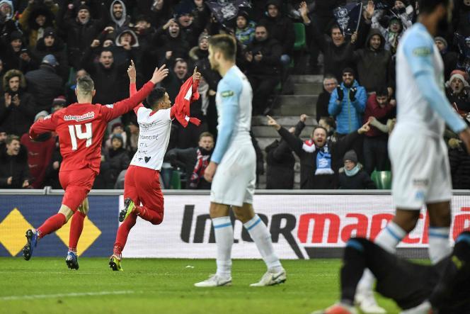 L'OM a été éliminé en 32es de finale de Coupe de France.