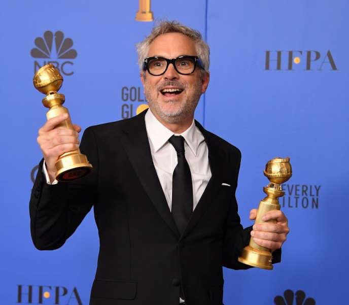 Alfonso Cuaron a remporté les Golden Globes du meilleur film en langue étrangère et du meilleur réalisateur pour« Roma».