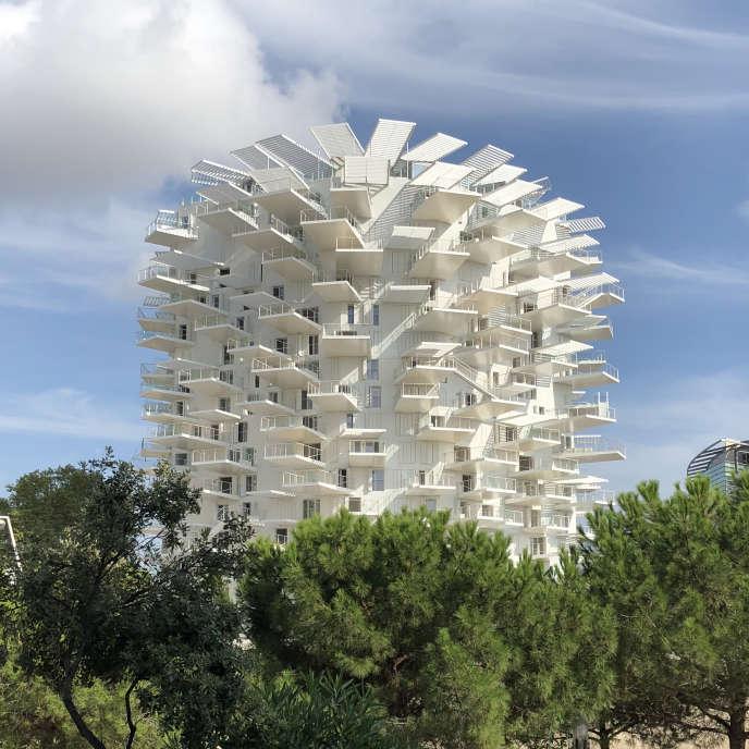 A Montpellier, l'Arbre blanc, création de l'architecte japonais Sou Fujimoto, doit être livré dans quelques mois.