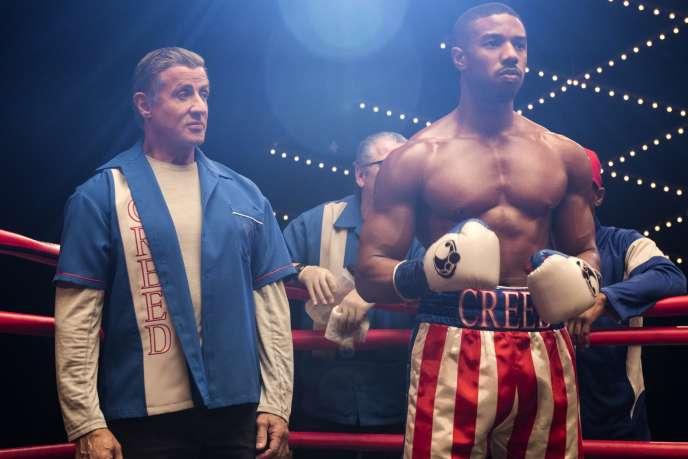 Sylvester Stallone et Michael B. Jordan dans «Creed II», de Steven Caple Jr.