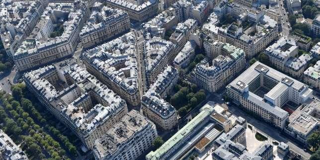Des immeubles dans le 16e arrondissement de Paris, en juillet 2018.