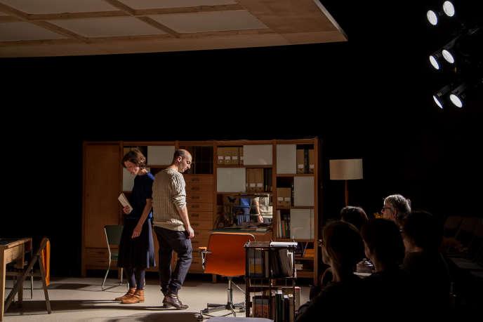 Laure Mathis et David Geselson dans«Doreen».