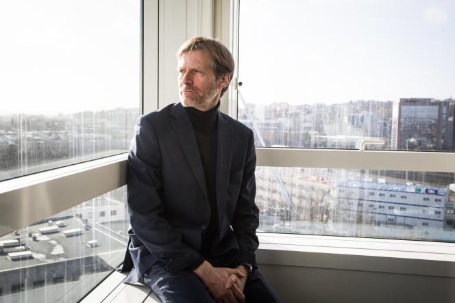 Pascal Brice, directeur général de l'Ofra,en 2017.