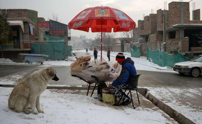 A Kaboul, le 8 janvier.