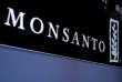 FILE PHOTO: Monsanto is displayed on a screen where the stock is traded on the floor of the New York Stock Exchange (NYSE) in New York City, U.S. on May 9, 2016. REUTERS/Brendan McDermid/File Photo