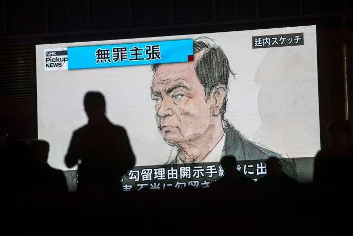 Le tribunal de Tokyo a rejeté la demande de remise en liberté du dirigeant détenu depuis le 19 novembre pour des soupçons de malversations financières en tant que patron de Nissan.