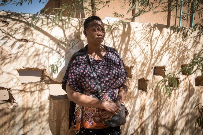 « A cause des rafles, je ne dormais plus», raconte Yvette à propos de sa vie en Algérie.