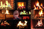 Plébiscitées sur Internet, les vidéos de feux de cheminée remontent à une vieille tradition née dans les années 1960 à la télévision américaine.