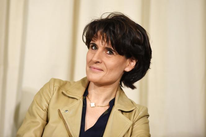 La directrice générale du groupe Korian, Sophie Boissard, à Paris, en novembre 2018.