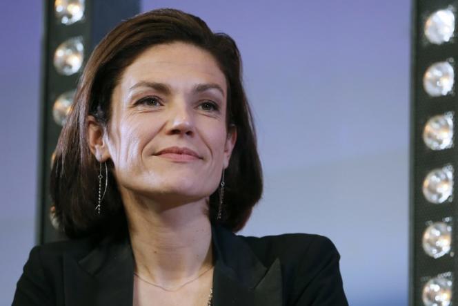Chantal Jouanno, alors sénatrice Union des démocrates et indépendants (UDI), lors d'un congrès du parti, le 15novembre 2014.