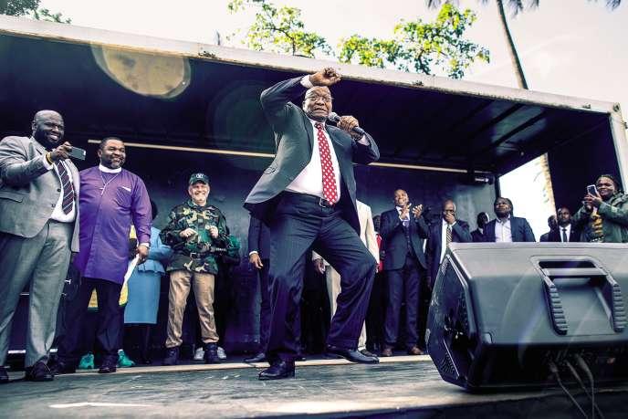 L'ex-président Jacob Zuma en juin 2018.