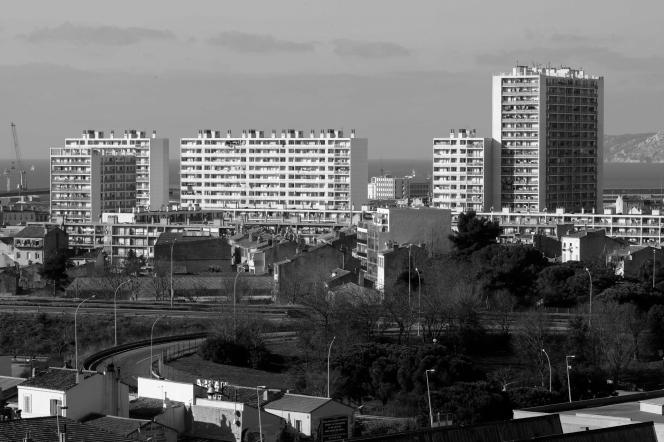 Saïd Ahamada a grandi à la cité Félix-Pyat, dans le 3e arrondissement de Marseille.