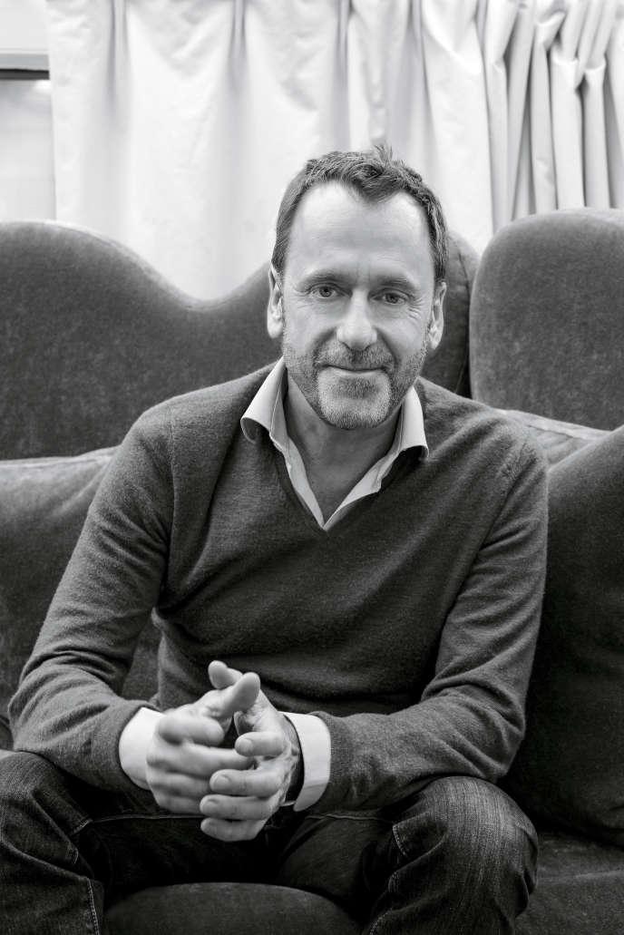 Hubert Le Gall, designer-scénographe, en 2018.