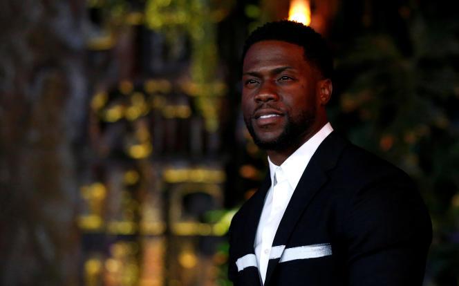 L'acteur et humoriste Kevin Hart, qui pose ici le 11 décembre 2017 pour la présentation du film « Jumanji», a renoncé à présenter la 91e cérémonie des Oscars.