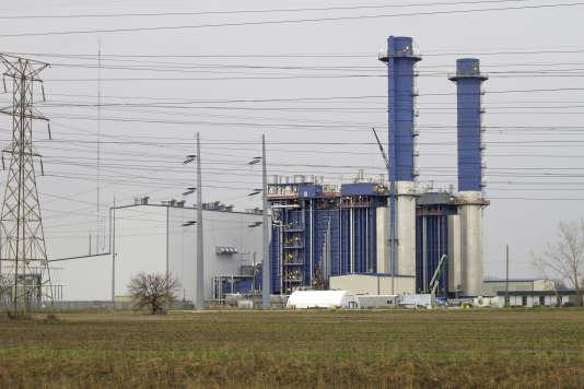 Une centrale à gaz, à Oregon, dans l'Ohio, en avril 2017.