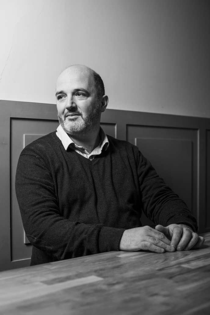 Fabrice Bloch, directeur artistique de la revue gastronomique «180 °C».